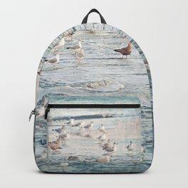 The Gangs All Here Seascape Backpack