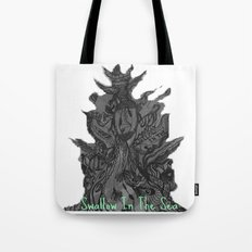 Swallow In The Sea Tote Bag