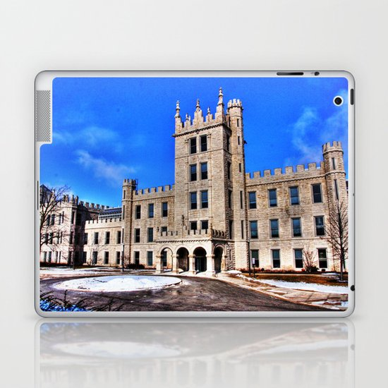 Northern Illinois University Castle - HDR Laptop & iPad Skin