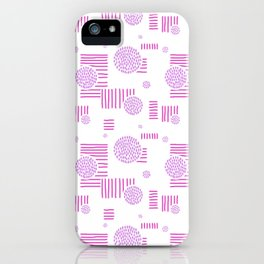 Imperfection in Pink iPhone Case