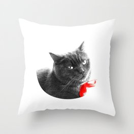 Muimui 1 Throw Pillow