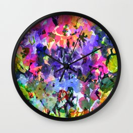 Gum Drop Garden Wall Clock