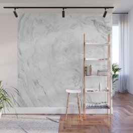 Light grey marble Wall Mural