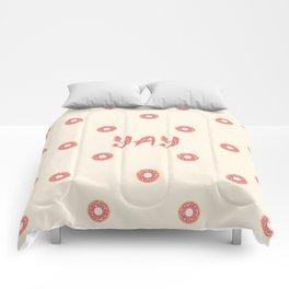 YAY Doughnuts Comforters
