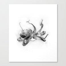 Pacific Octopus Canvas Print