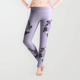 Enjoy The Little Things Typography Leggings