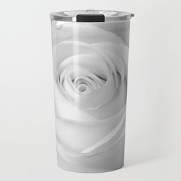in spite of it all -- portrait of a rose Travel Mug