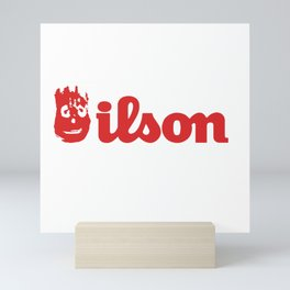 Wilson. Cast away on a deserted remote island Mini Art Print