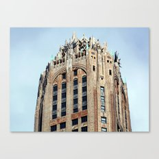 Looking Up on the streets in NYC Canvas Print