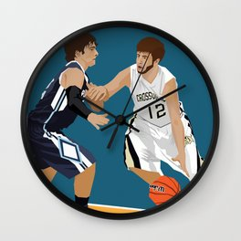 TY COLE 12 Wall Clock