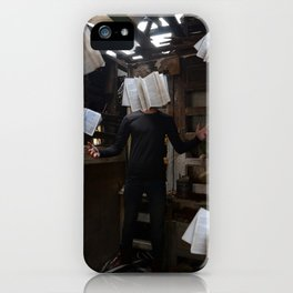The Underground Man iPhone Case