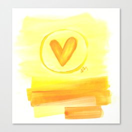 Prairie Love Canvas Print