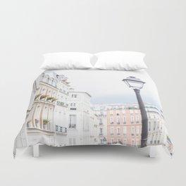 Montmartre in Paris Duvet Cover