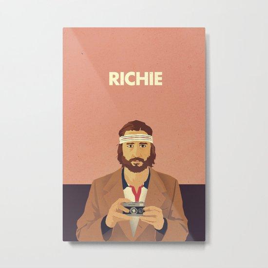 Richie Metal Print