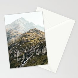 Rugged Mountains Stationery Cards