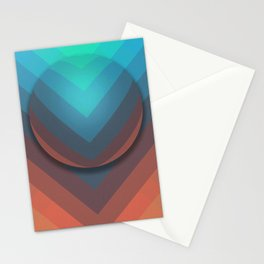 Surface To Swim Stationery Cards
