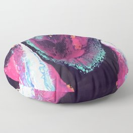 Waterfall Acrylic Pour Floor Pillow