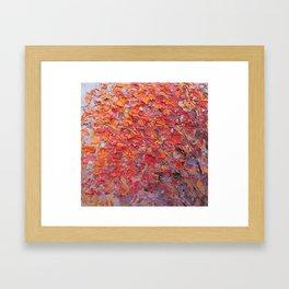 Fall Breeze Framed Art Print