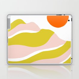 sierra mountain sunset Laptop & iPad Skin