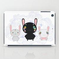 rabbits iPad Cases featuring Rabbits by Ilya Konyukhov