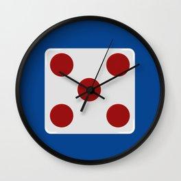 Rebel Alliance general rank badge Wall Clock