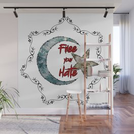 Free your Hate Wall Mural