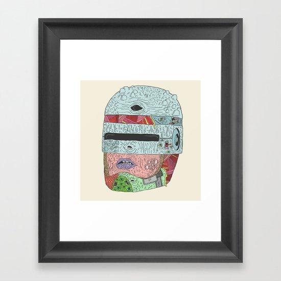 Gorebocop Framed Art Print