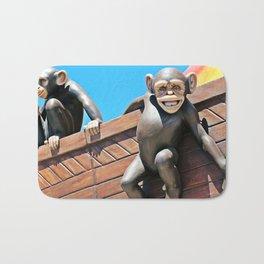 Noah's Chimps Bath Mat