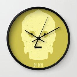 OH MY! Wall Clock