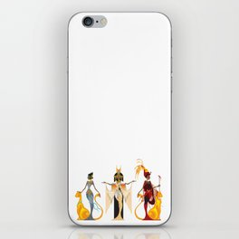 The Divas of Egypt iPhone Skin