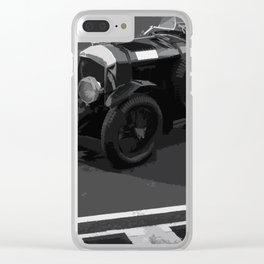 Birkin Blower Vintage Car Clear iPhone Case