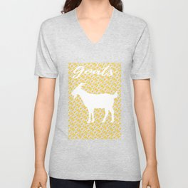 Koza Goat T-Shirt Unisex V-Neck
