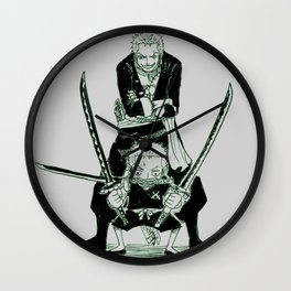 RORONOA ZORO GREEN SHADES - ONEPIECE Wall Clock