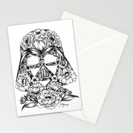 Blooming Vader Stationery Cards