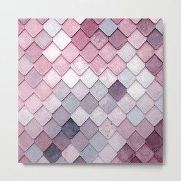 rosa pattern Metal Print