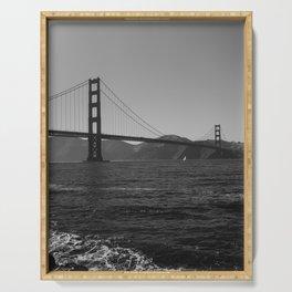 Golden Gate Bridge III Serving Tray
