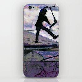 Deck Grab Champion - Stunt Scooter Art iPhone Skin