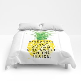 Be A Pineapple Comforters