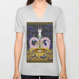 Pure Mother Bee Unisex V-Neck