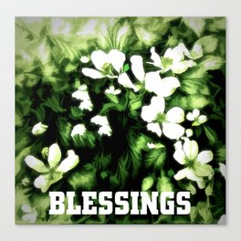 Blessings Canvas Print