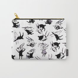 Odal Pattern Carry-All Pouch