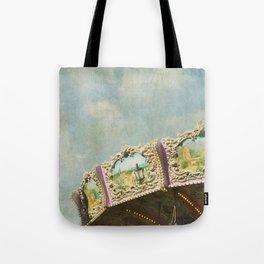 Joy Meets Sky Tote Bag