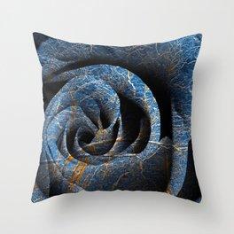 Susquehanna Winter Rose Throw Pillow