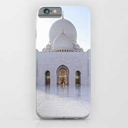 Grand Mosque Abu Dhabi iPhone Case