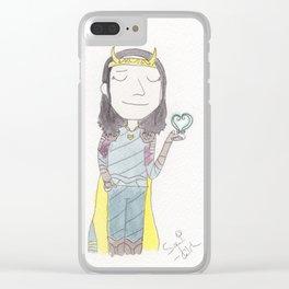 Loki - stardust Clear iPhone Case