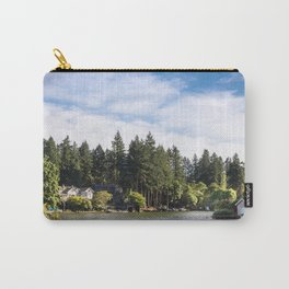 Homes along the shore of Lake Oswego, OR Carry-All Pouch