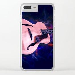 Guitar Art Clear iPhone Case
