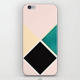 Tangram Square Five iPhone Skin