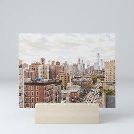 NYC on Saturday Mini Art Print