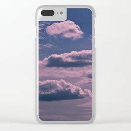 Clouds 09 Clear iPhone Case
